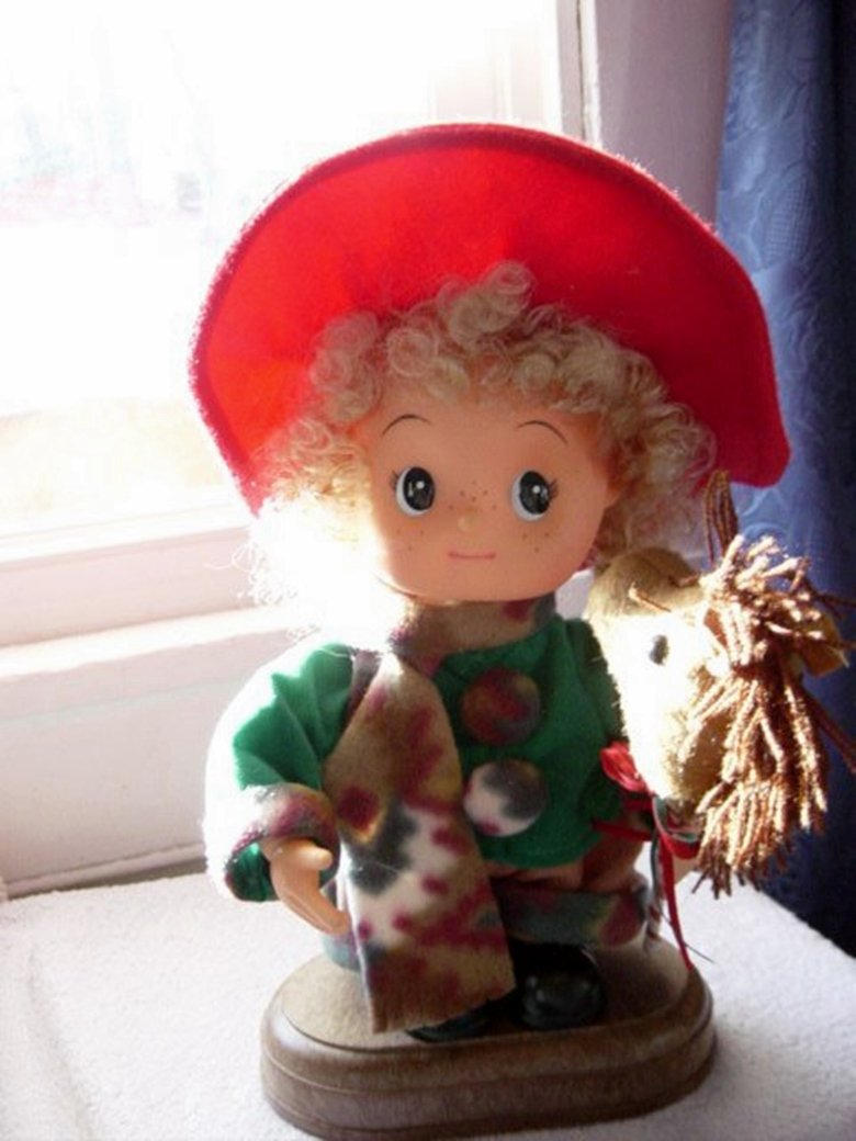 Little Cowgirl Musical Doll Different Songs Play and Moves to Music #400022
