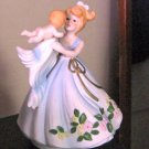 Vintage Young Woman and Child Music Box #400099
