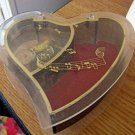 Heart Shaped Musical Jewelry Trinket Box #400115