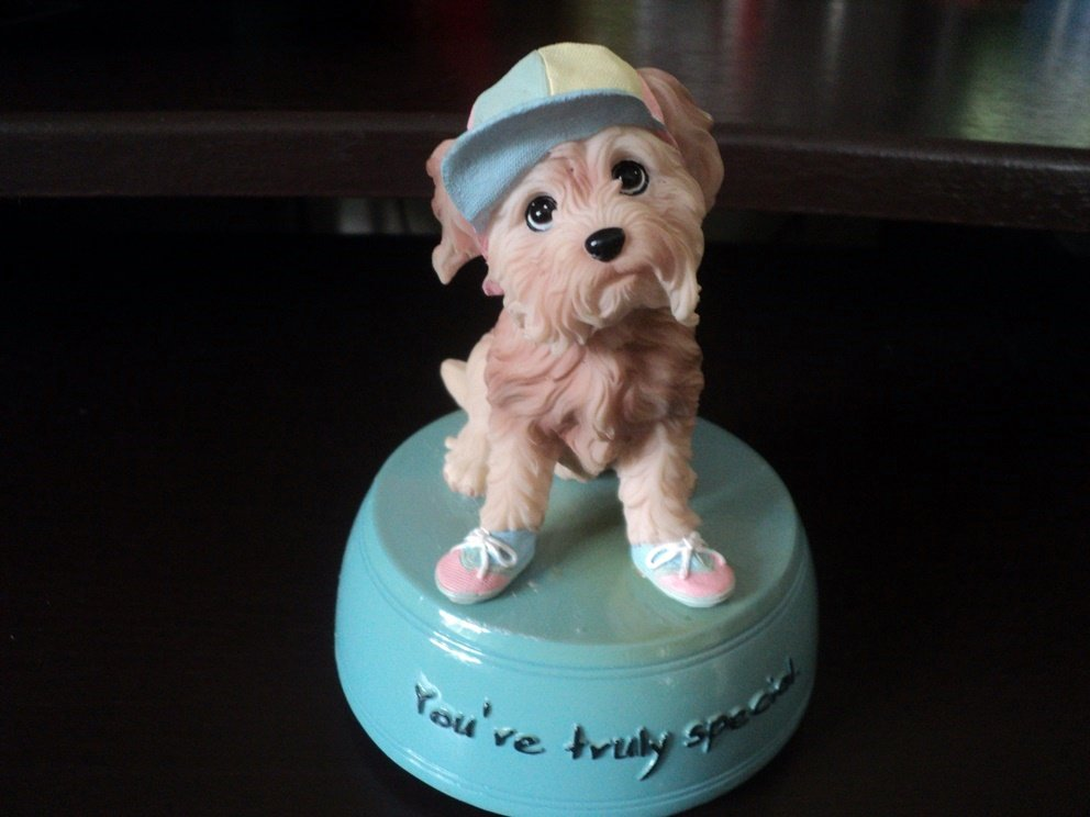 No. 4663 Rachael Hale Special Friend Mulga Music Box Plays Puppy Love  #400162