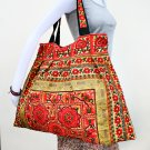 Hmong Old Vintage Style Thai handmade Cotton Shoulder Bag Handbag Hippie Boho