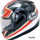 Arai Profile Flag Italy Graphics Street Motorcycle Helmets