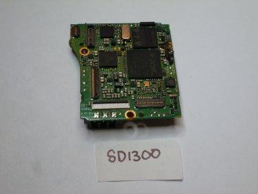 Canon SD1300 Main PCB System Board
