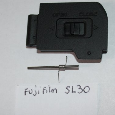 FujiFilm SL30 Door Replacement Black