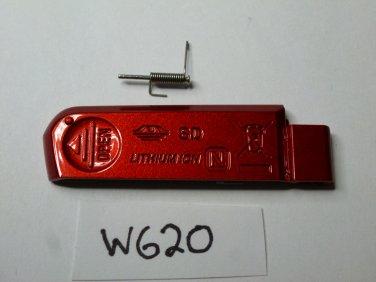 Sony DSC-W620 Door Replacement Red