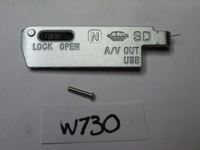 Sony DSC-W730 DSC-W830 Door Replacement Silver