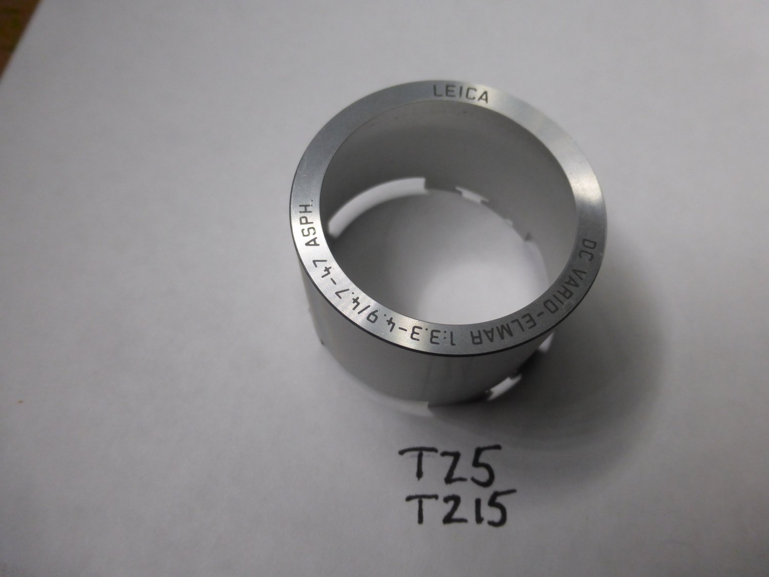 Panasonic Lumix DMC-TZ5 DMC-TZ4 DMC-TZ11 DMC-TZ15 Lens Front TUbe