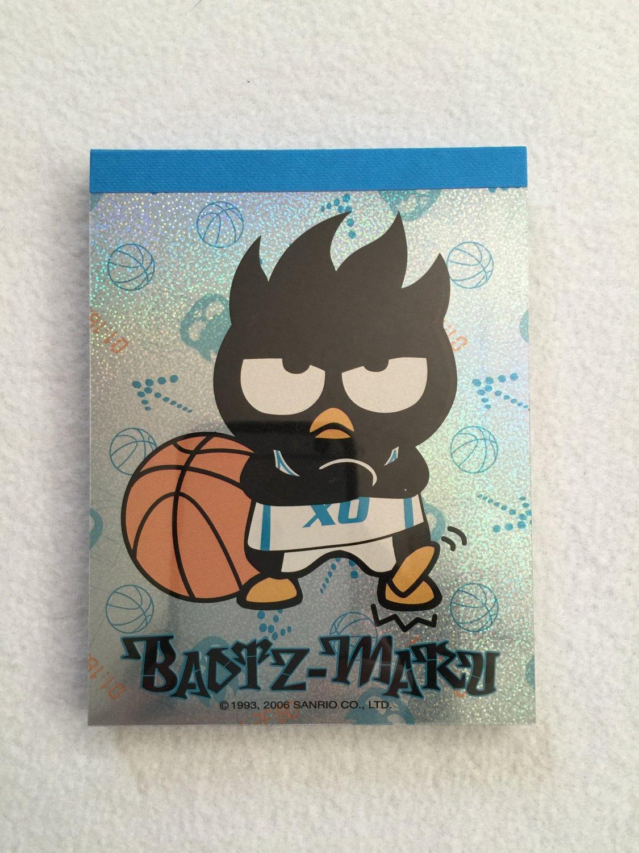 Sanrio Badtz-Maru Writing Paper Letter Memo Sheets Notepad Sticker