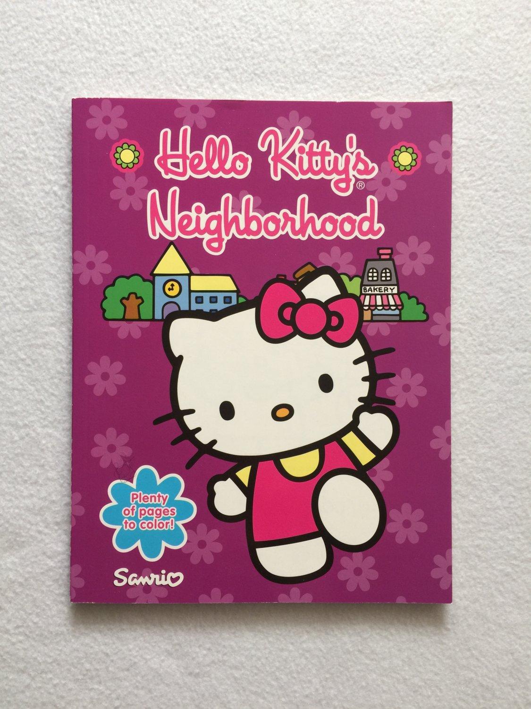 Hello Kitty's Neighborhood Coloring & Activity Book