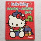 Red Hello Kitty Coloring and Activity Book