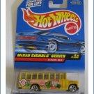 Mixed Signal Series 736 School Bus Mattel Hot Wheels Die Cast
