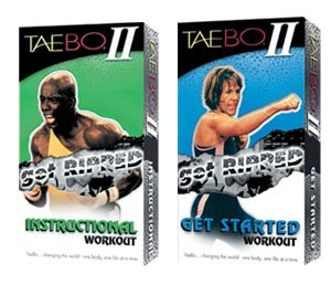 Taebo 2 Get Ripped Instruction VHS with Billy Blanks