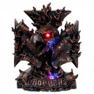 Hawk Flames Chopper LED Statue