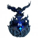 Rising Eagle in Sea of Fire Water Mist Fountain Statue