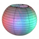 "10"" Rainbow Paper Lantern"