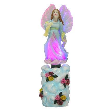 Angel in Pink & Blue Gown Fiber Optic Night Light