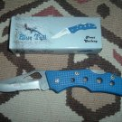 Frost Cutlery Knife Blue Tail - 4""