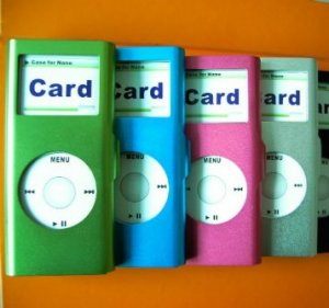 Metal Case for IPOD Nano(Various Color) ICM01N