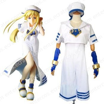 ARIA Akari Mizunashi Halloween Cosplay Costume any size.