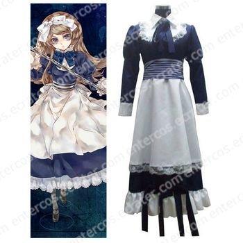 Axis Powers Byelorussia Natasha Alfroskaya Cosplay Costume any size.