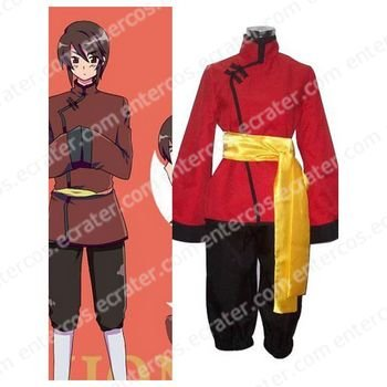 Axis Powers Hongkong Cosplay Costume any size.