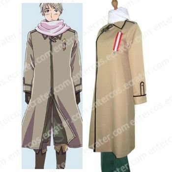 Axis Powers Russia Ivan Braginski Cosplay Costume any size.