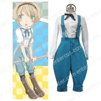 Axis Powers Ukraine Cosplay Costume  any size.