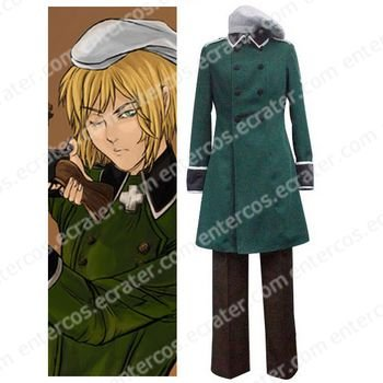 Axis Powers Vash Zwingli Cosplay Costume any size.