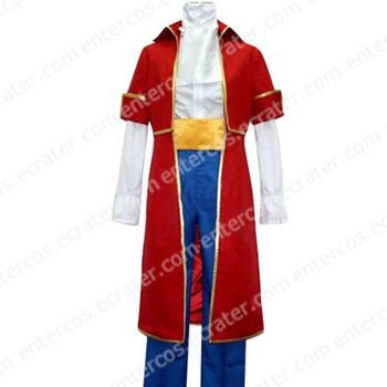 Hetalia Axis Powers Austria Roderich Red Costume any size.