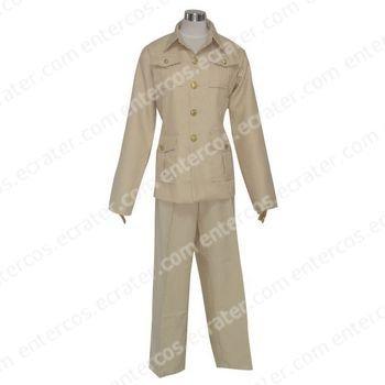 Hetalia Axis Powers France Cosplay Costume  any size