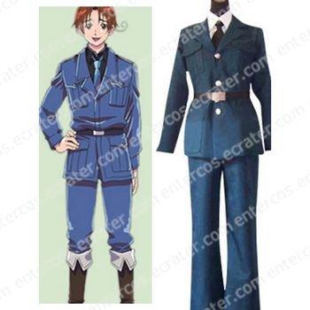 Hetalia Axis Powers Lithuania Cosplay Costume  any size