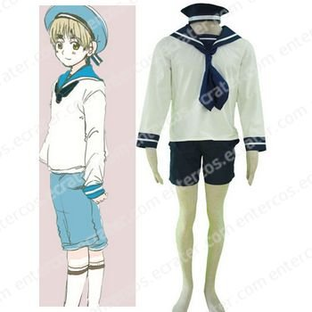 Hetalia Axis Powers N. Italy Sailor Suit Cosplay Costume any size