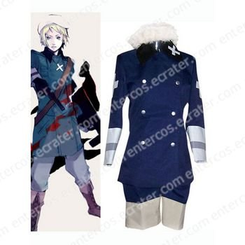Royal Blue Hetalia Axis Powers Cosplay Costume any size