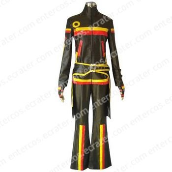 Black And Stripe Beatmania IIDX Cosplay Costume  any size