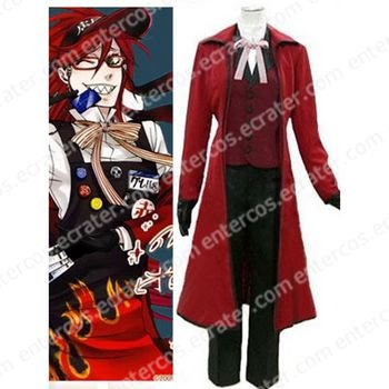 Black Butler Gureru Sutcliffe Halloween Cosplay Costume any size