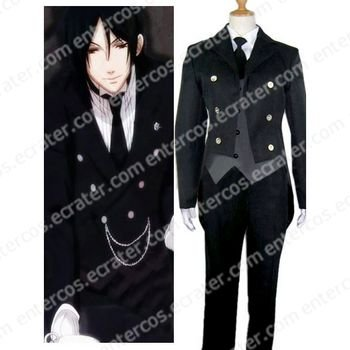 Black Butler Kuro Shitsuji Cosplay Costume any size