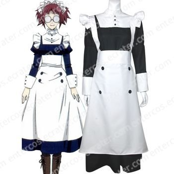 Black Butler Maylene Halloween Cosplay Costume any size