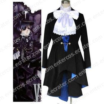 Kuroshitsuji Ciel Phantomhive Halloween Cosplay Costume 4 any size