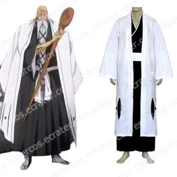 Bleach 1st Division Captain Yamamoto Genryuusai Shigekuni Halloween Cosplay Costume any size