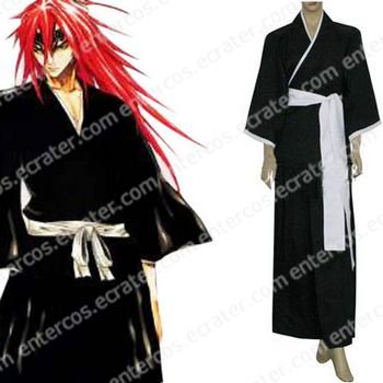 Bleach 6th Division Lieutenant Abarai Renji Cosplay Costume  any size