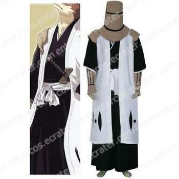Bleach 7th Division Captain Komamura Sajin Halloween Cosplay Costume any size