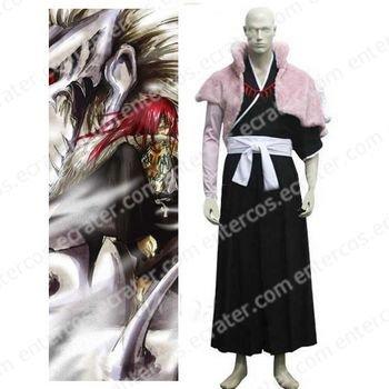 Bleach Abarai Renji Halloween Cosplay Costume any size