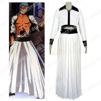 Bleach Grimmjow Cosplay Costume  any size