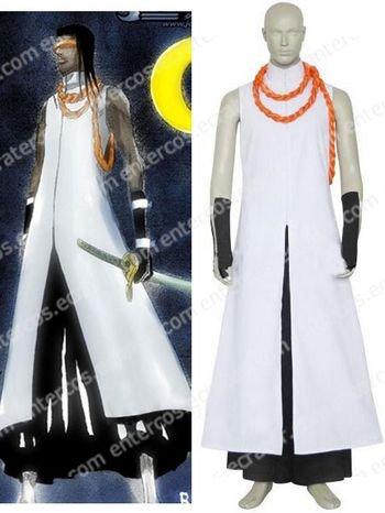 Bleach Kaname Tousen Arrancar Halloween Cosplay Costume any size