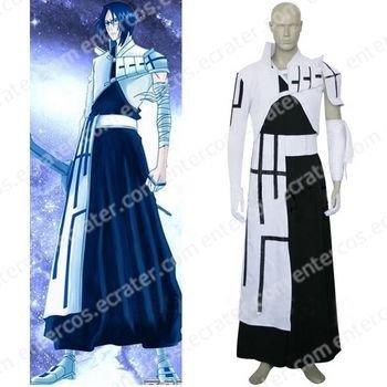 Bleach Uryuu Ishida Halloween Cosplay Costume any size.