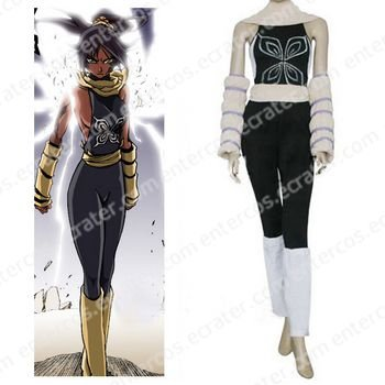 Bleach Yoruichi Shihouin Halloween Cosplay Costume  any size.
