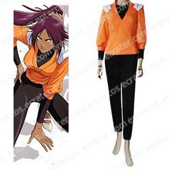 Bleach Yoruichi Shihouin Women's Halloween Cosplay Costume any size.