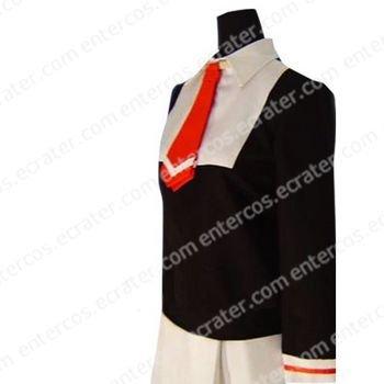 Cardcaptor Sakura Sakura Kinomoto Autumn Uniform Cosplay Costume any size.