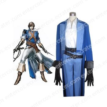 Castlevania Richter Belmont Halloween Cosplay Costume any size.