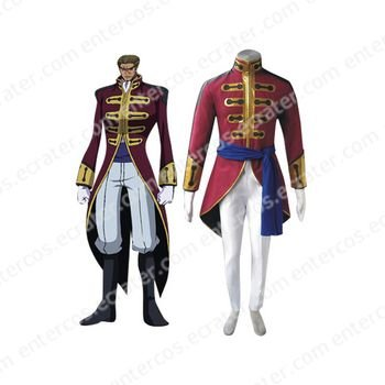 Code Geass Britannia Cosplay Costume  any size.